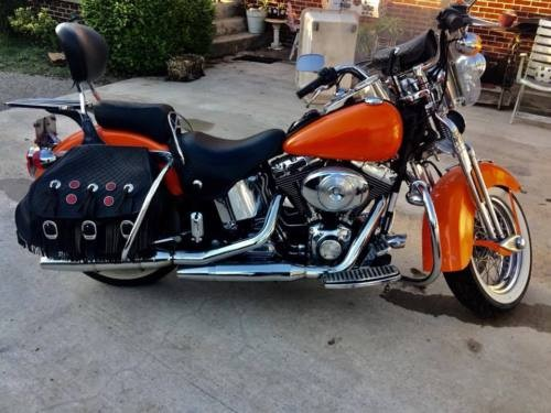 2000 Harley-Davidson Softail Orange photo
