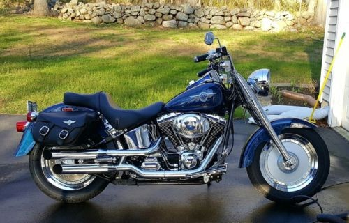 2000 Harley-Davidson Softail Sinister Blue Pearl for sale