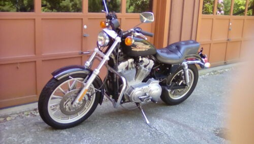 2000 Harley-Davidson Sportster Black photo