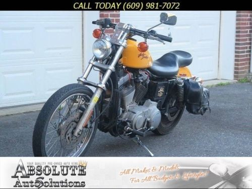 2000 Harley-Davidson XL883C -- Yellow photo