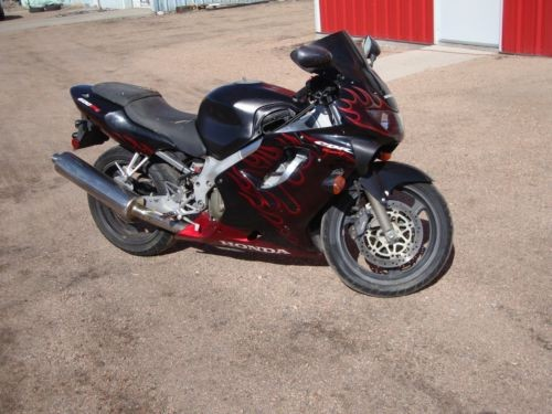 2000 Honda CBR Black for sale