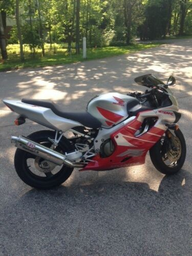 2000 Honda CBR Red/Silver for sale craigslist