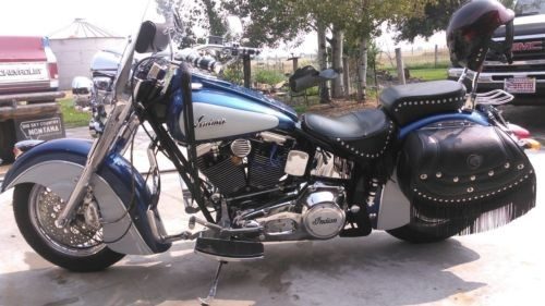 2000 Indian Chief blue/white photo
