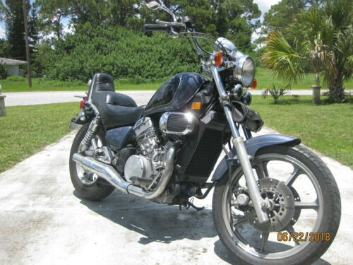 2000 Kawasaki Vulcan Blue photo