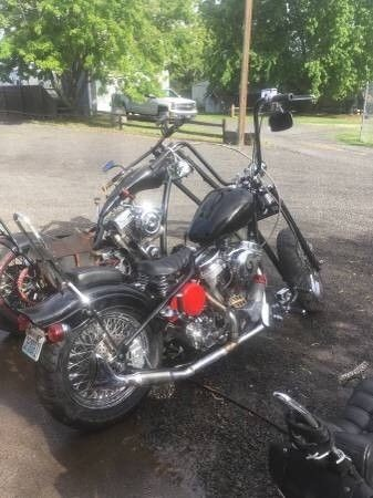 2001 Custom Built Motorcycles Bobber  photo
