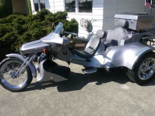 2001 Custom Built Motorcycles RoadHawk Silver craigslist