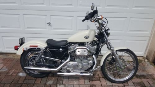 2001 Harley-Davidson SPORTSTER 883 HUGGER White for sale