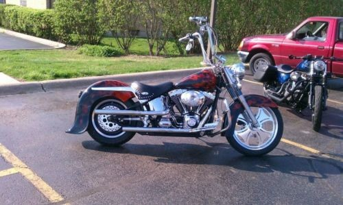 2001 Harley-Davidson Softail Black photo