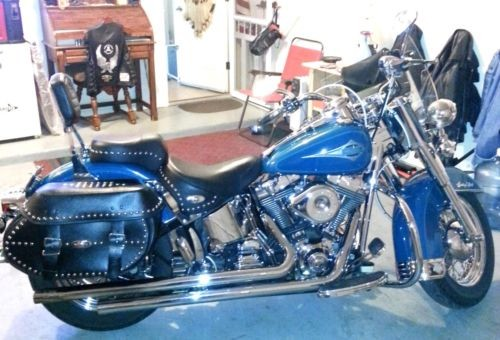 2001 Harley-Davidson Softail Real Teal for sale craigslist