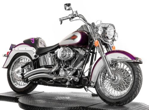 2001 Harley-Davidson Softail Two-Tone Concord Purple/Diamond Ice photo