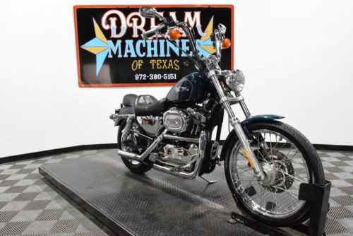 2001 Harley-Davidson XL1200C - Sportster 1200 Custom Managers Special -- Blue photo