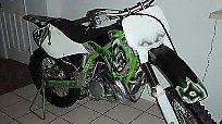 2001 Kawasaki KX Green photo