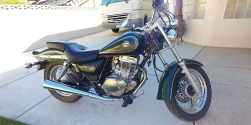 2001 Suzuki GZ 250 Green photo