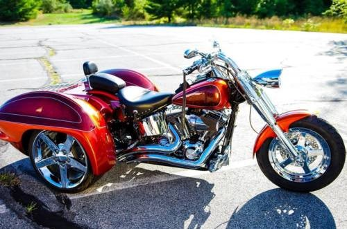 2002 Custom Built Motorcycles Other Orange/House of Kolor for sale