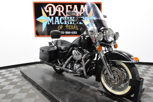 2002 Harley-Davidson FLHPI – Road King Police Managers Special — Black for sale