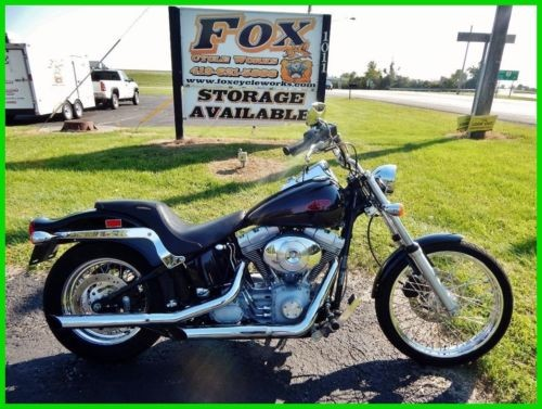 2002 Harley-Davidson FXST Softail Standard Vivid Black photo