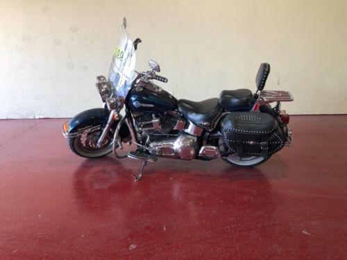 2002 Harley-Davidson Softail BLUE photo