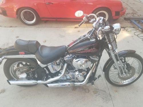2002 Harley-Davidson Softail Black photo