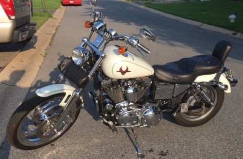 2002 Harley-Davidson Sportster 1200 White photo