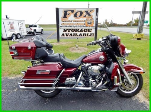 2002 Harley-Davidson Touring Luxury Rich Red photo