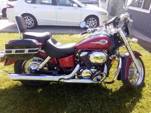 2002 Honda Shadow ACE Deluxe Burgundy craigslist