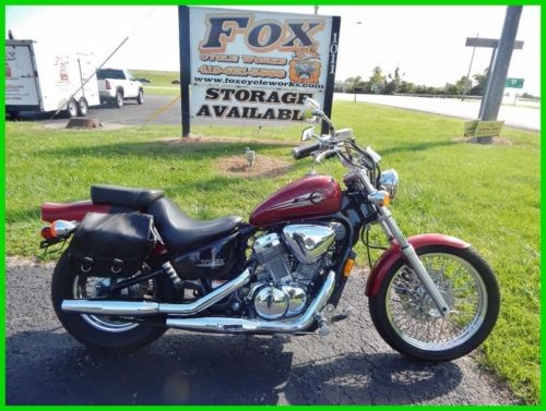2002 Honda Shadow Red photo