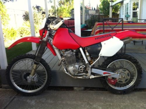 2002 Honda XR Red photo