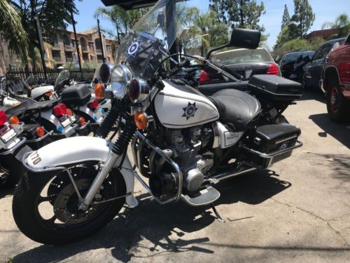 2002 Kawasaki KZ1000 POLICE White for sale