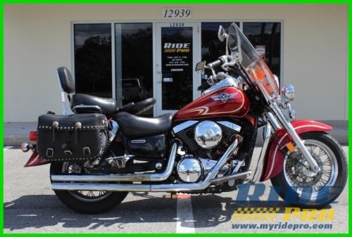 2002 Kawasaki Vulcan Red photo