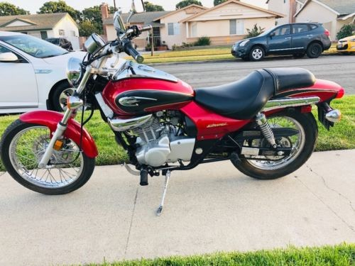 2002 Kawasaki eliminator Red photo