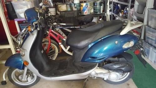 2002 Kymco Yup 50 teal black silver for sale