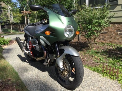 2002 Moto Guzzi V11 LeMans Green photo