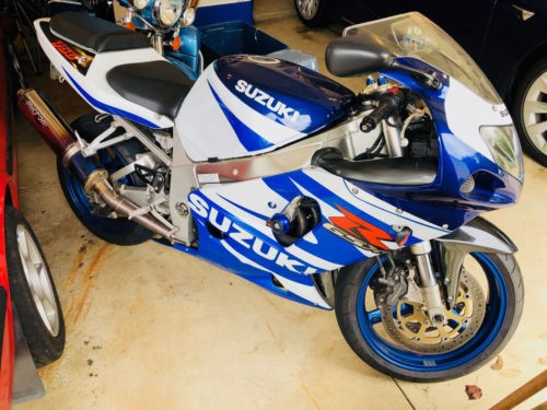 2002 Suzuki GSX-R Blue for sale
