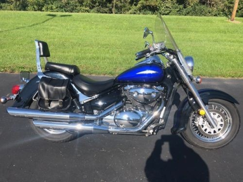 2002 Suzuki Intruder Blue photo