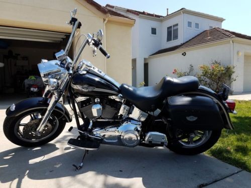 2003 Harley-Davidson Softail Black photo