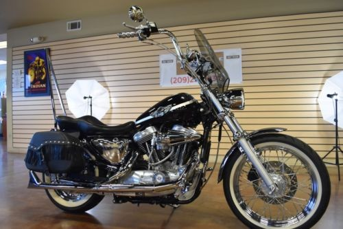 2003 Harley-Davidson Sportster Silver / Black photo