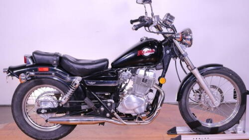 2003 Honda Rebel -- Black photo