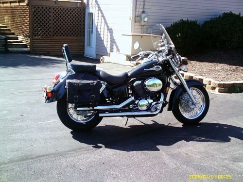 2003 Honda Shadow Black photo