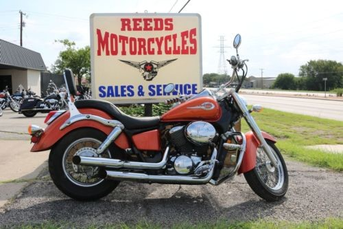 2003 Honda Shadow Orange photo