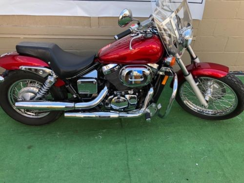 2003 Honda Shadow Red for sale craigslist