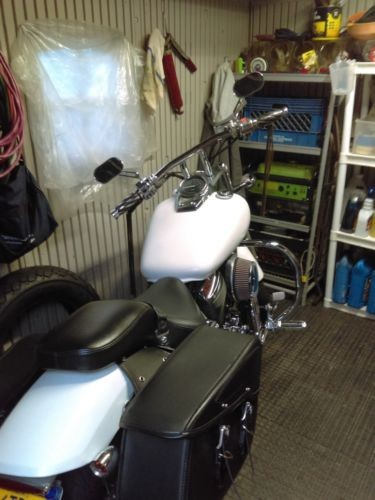 2003 Honda Shadow White photo