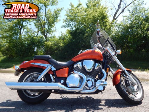 2003 Honda VTX - 1800C -- Orange photo