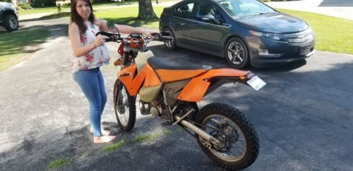 2003 KTM EXC Orange for sale craigslist