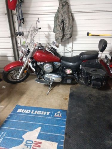 2003 Kawasaki Vulcan Red photo