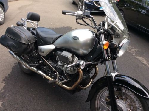 2003 Moto Guzzi California Stone Silver Black photo