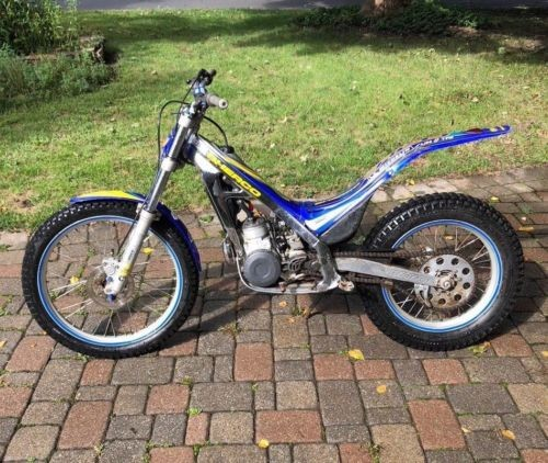 2003 Other Makes Sherco Blue / white photo