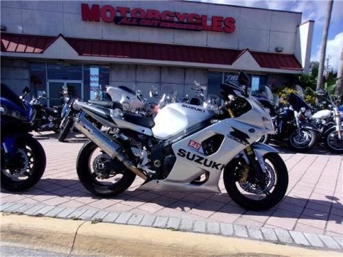 2003 Suzuki GSX-R -- Silver photo