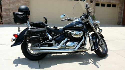 2003 Suzuki Intruder Metallic Navy photo