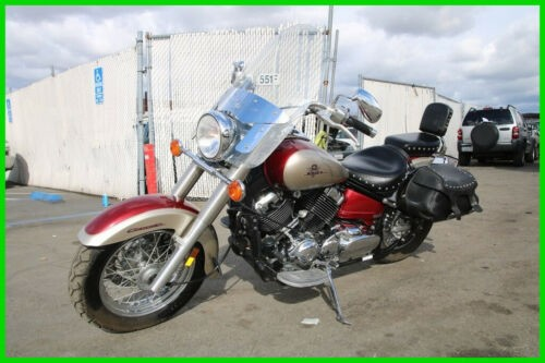 2003 Yamaha V Star 650 Red photo