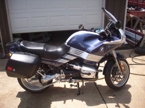 2004 BMW R-Series Blue & Silver photo